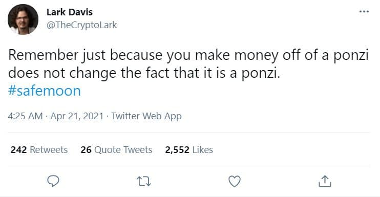 Safemoon Ponzi