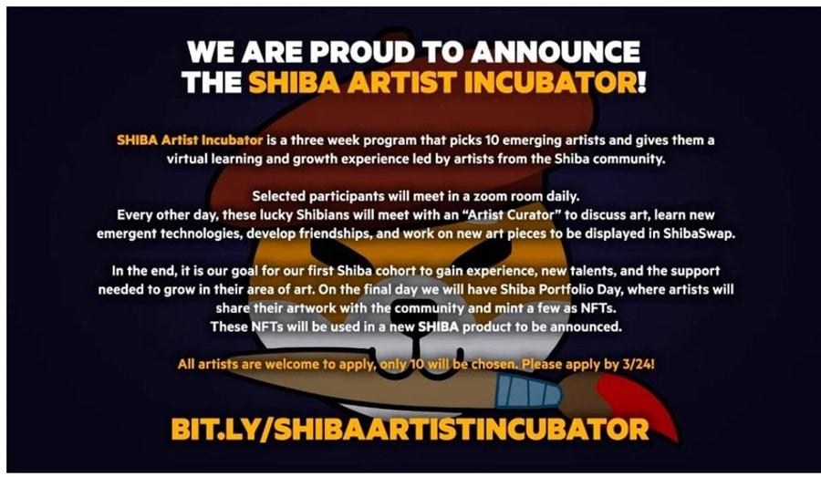 Shiba Artist Incubator