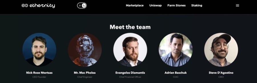 Ethernity Chain All Star Team