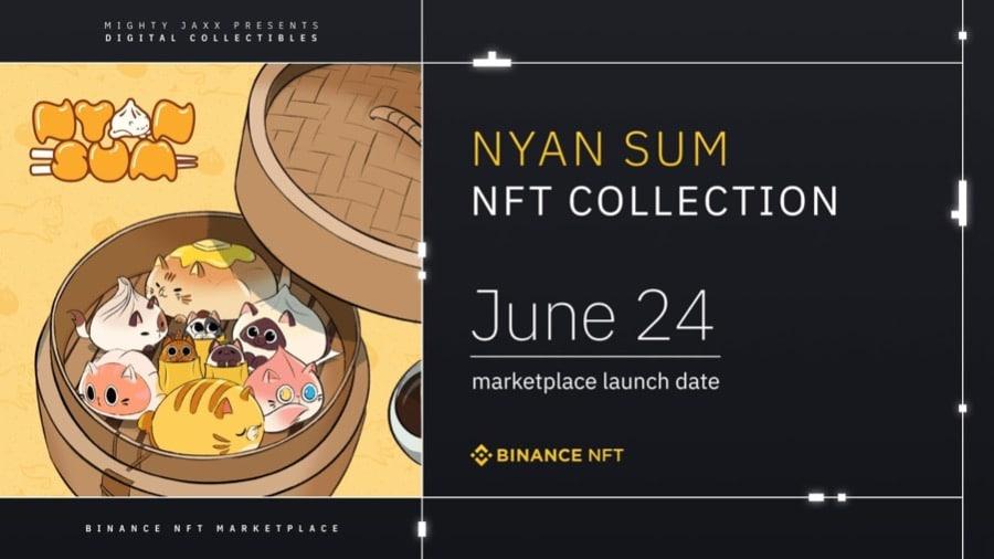 Mighty Jaxx Nyan Sum NFT Collection