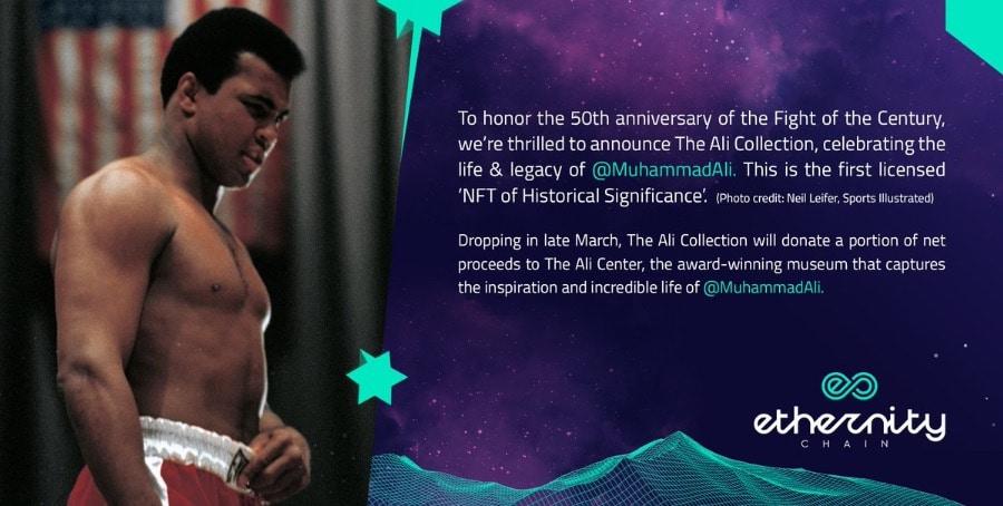 The Muhammad Ali a-NFT