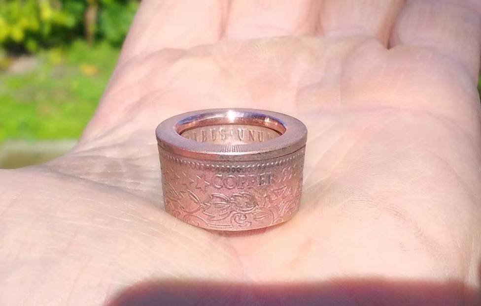 2011-American-Copper-Morgan-coin-ring-how-to-make-it-25