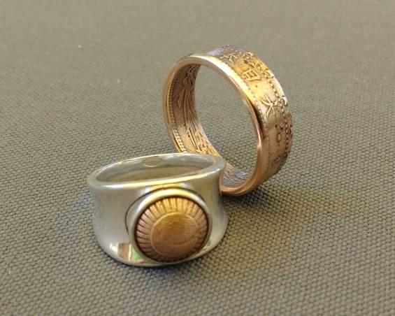 1898-1902-japan-1-sen-copper-coin-ring-couple-set-6