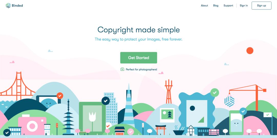 The advantage of blockchain as a copyright service