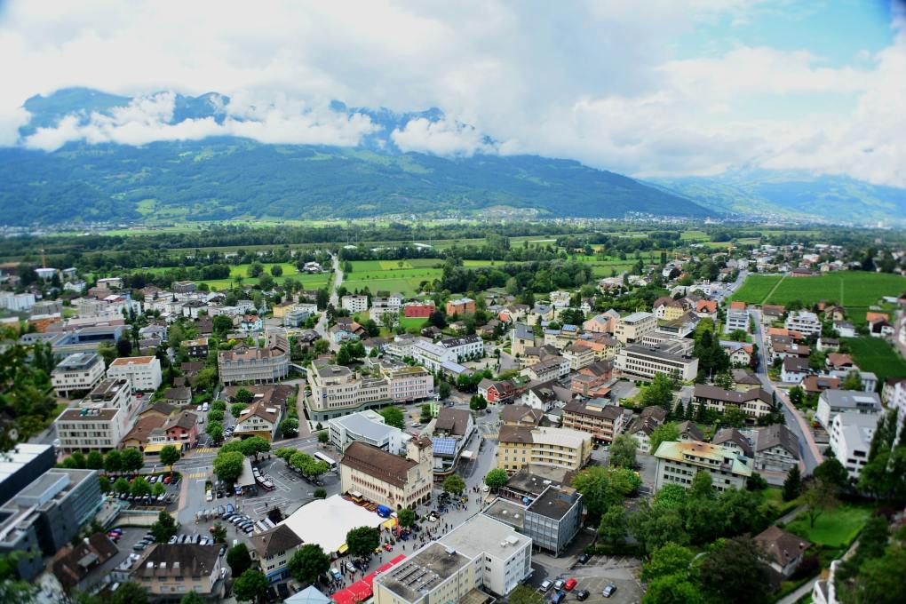 Views over Liechtenstein