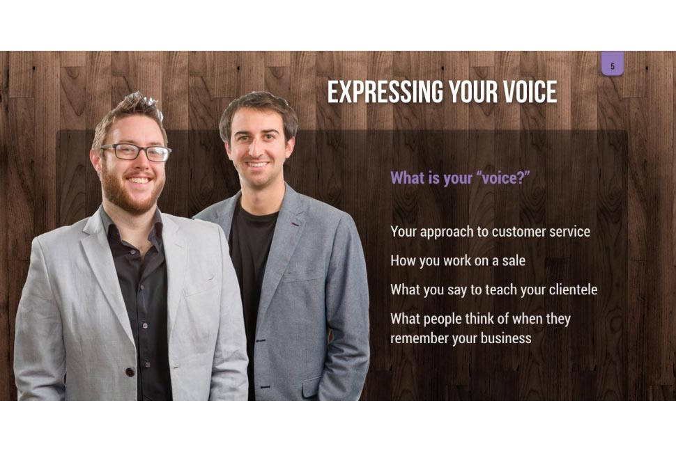 Finding Your Voice: how to use your personality to brand your business