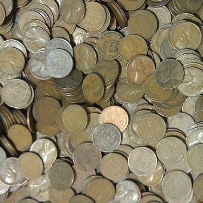 2 pounds wheat cents