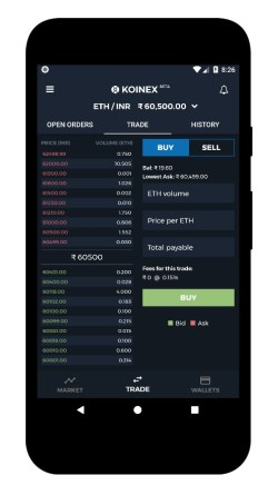 how to download koinex mobile app