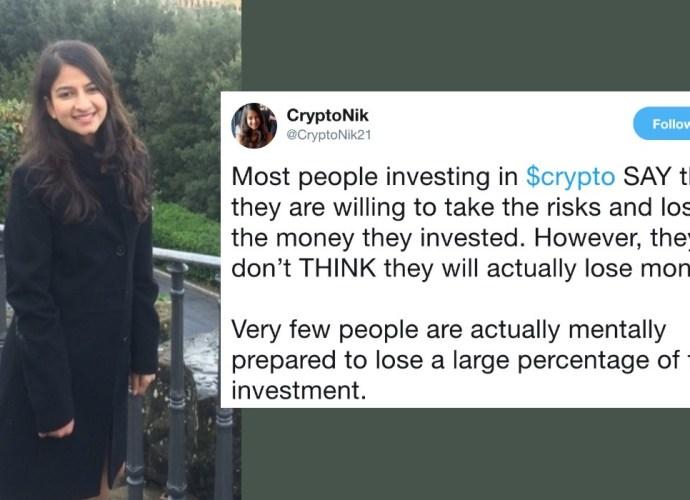 nikita agarwal twitter influencer women in crypto