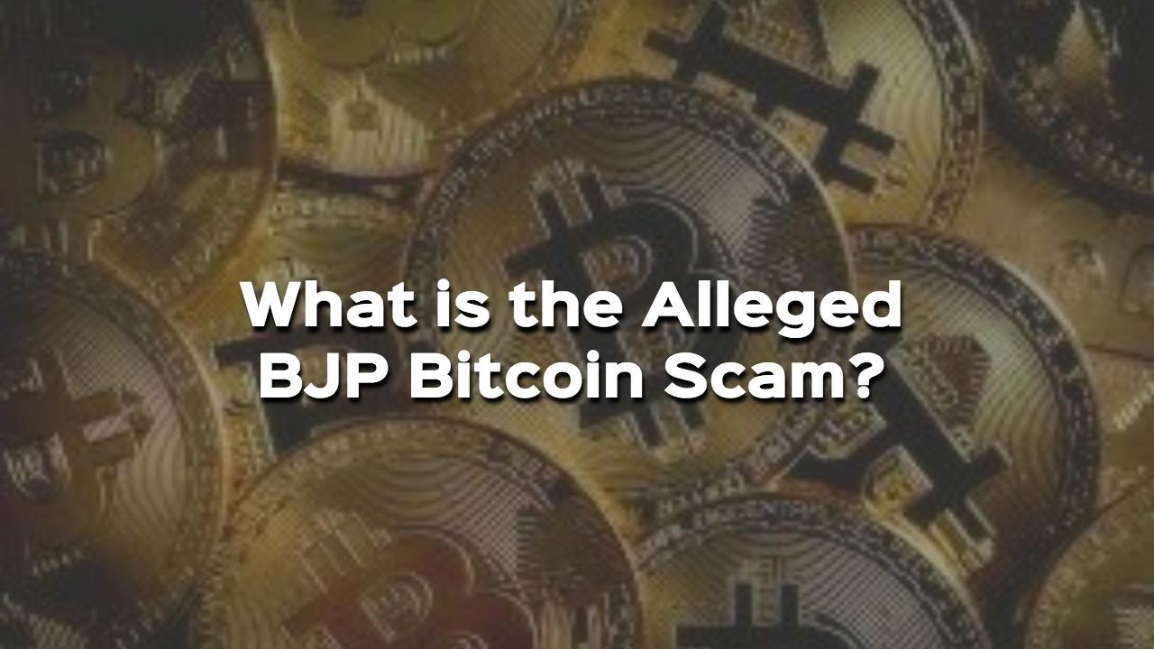 bitcoin scam surat bjp
