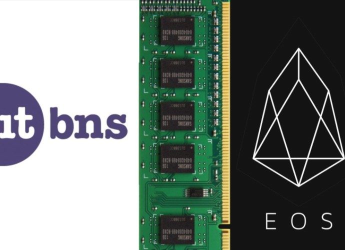 EOS RAM trading in India and first time in the world on Bitbns