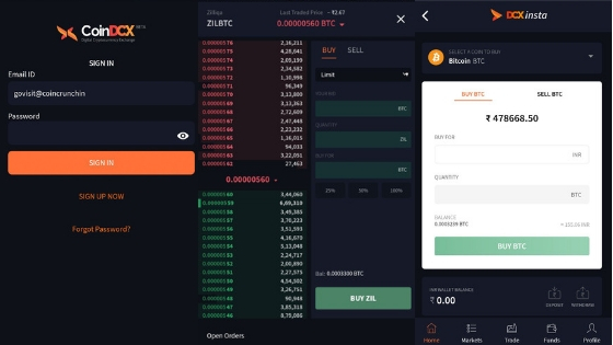 Coindcx android app review by coincrunch india
