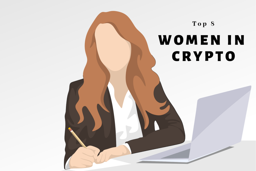 top eight women in cryptocurrency