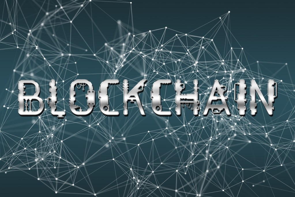 Blockchain is a distributed ledger shared via a peer-to-peer network that maintains an expanding list of data records.