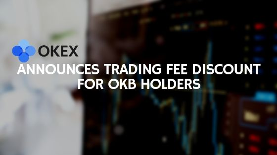 okex-trading fee discount for okb holders