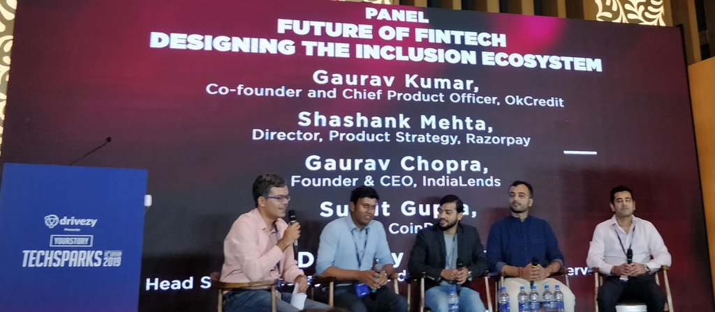 coindcx sumit gupta at techsparks