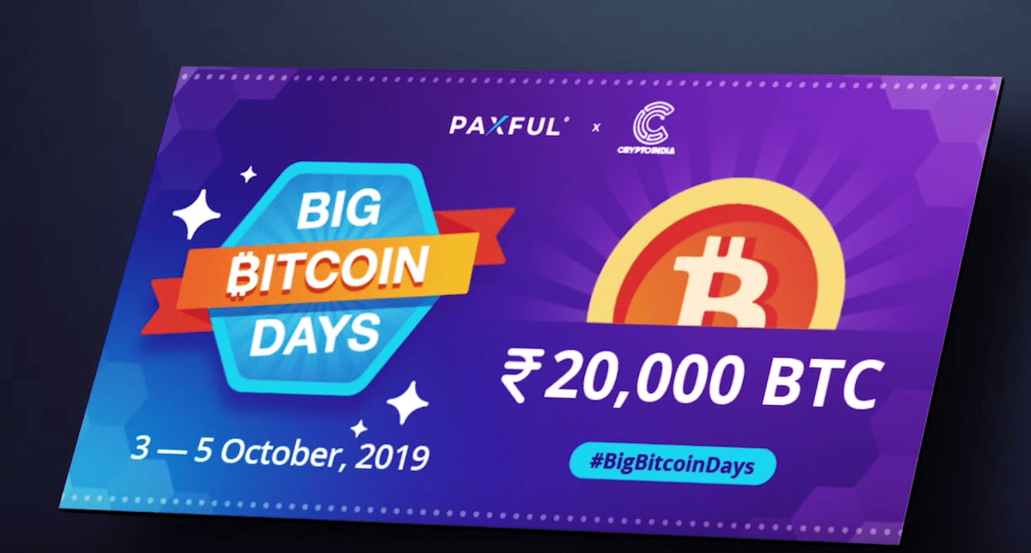 Bitcoin Giveaway Paxful