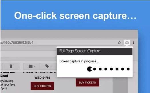extension capture d'écran