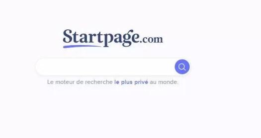 les moteurs de recherche pour hackers - startpage.com
