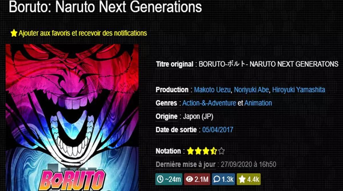 [Boruto : naruto next generation] comment télécharger Boruto gratuitement