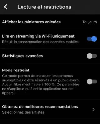 streaming sur wifi