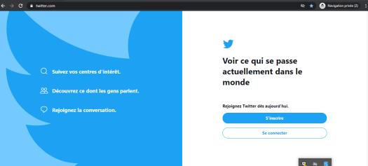 supprimer un compte Twitter