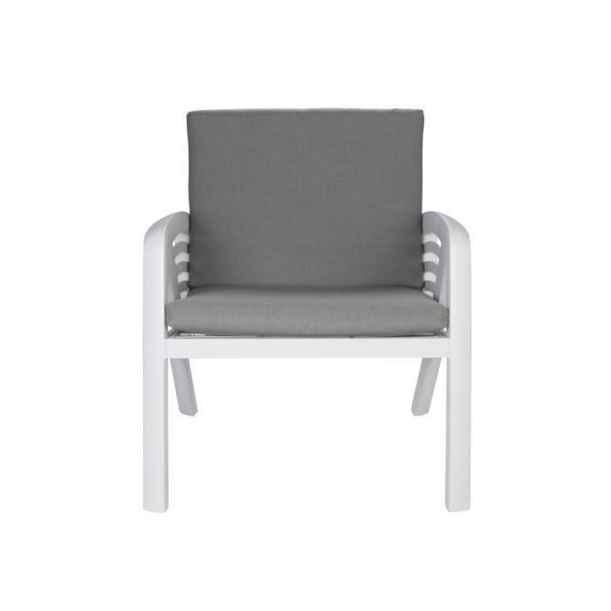 Salon De Jardin Lounge Aluminium | Table De Jardin 8 Places ...