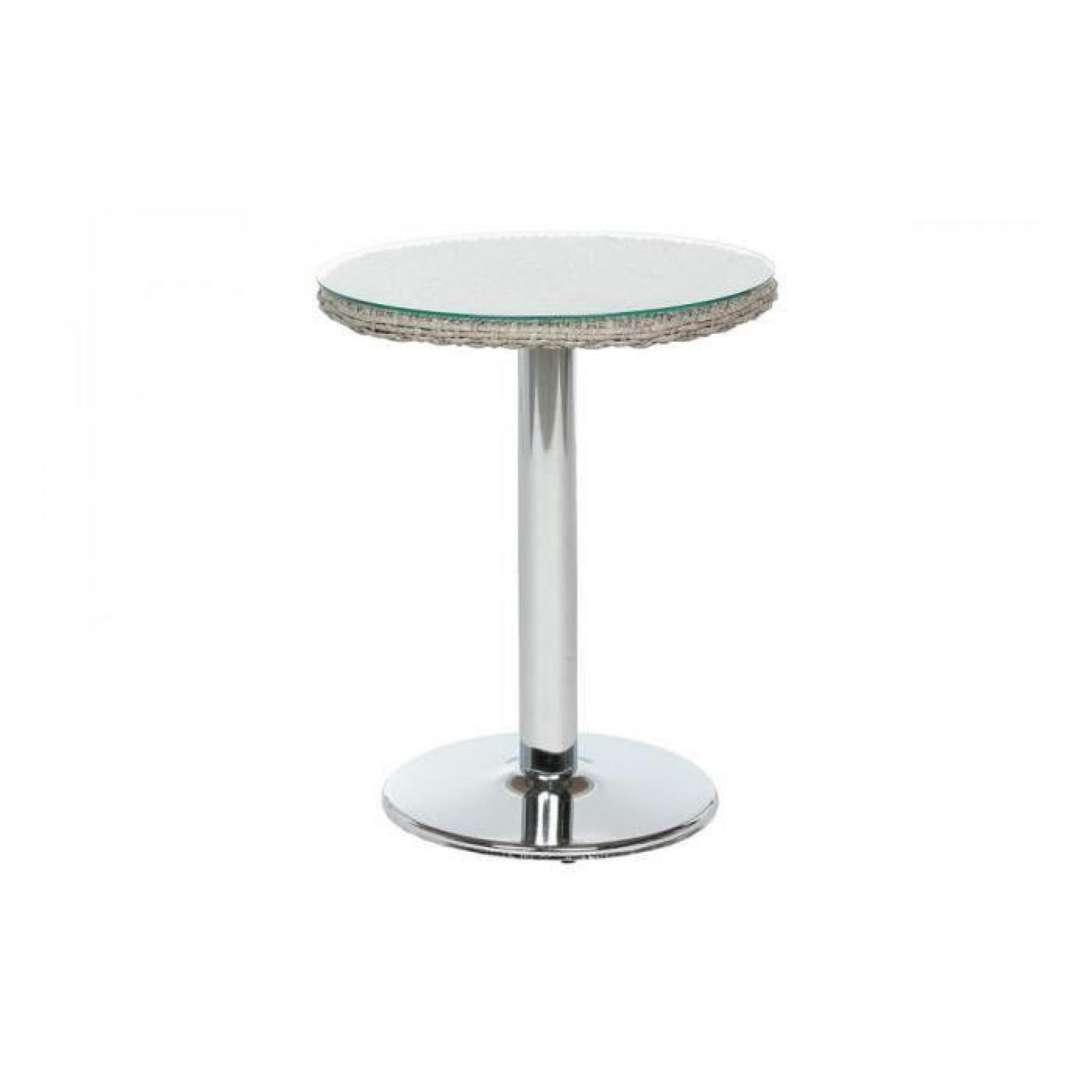 Table De Jardin Ronde Hesperide | Table Ronde De Jardin En Aluminium ...