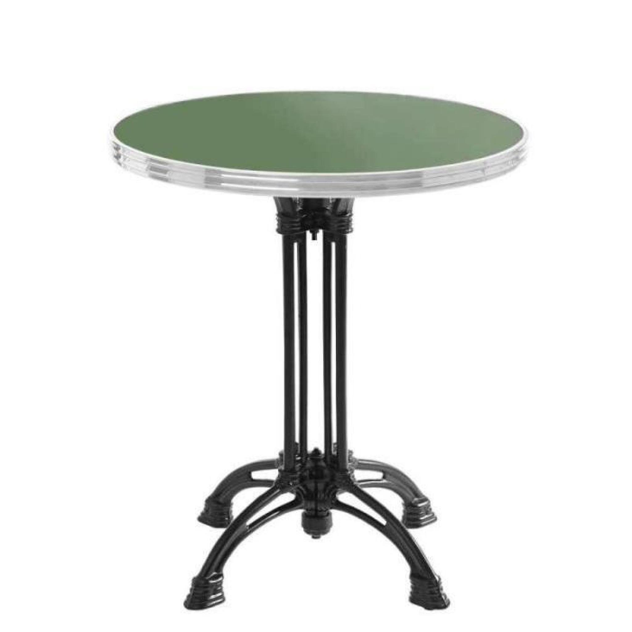 Best Table De Jardin Ronde Verte Contemporary - House Design ...