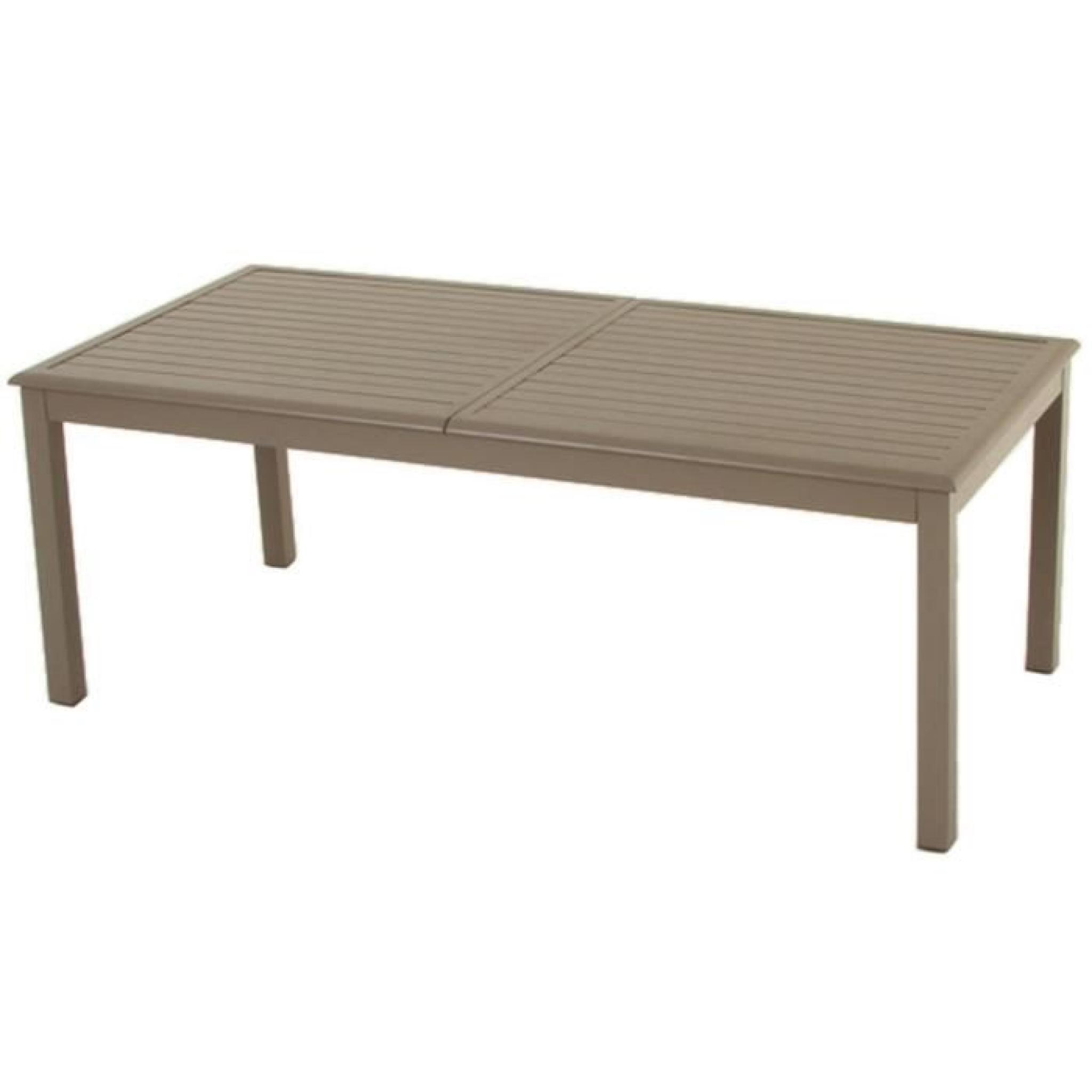 Table De Jardin Plastique Couleur Taupe | Chaise Jardin Couleur ...