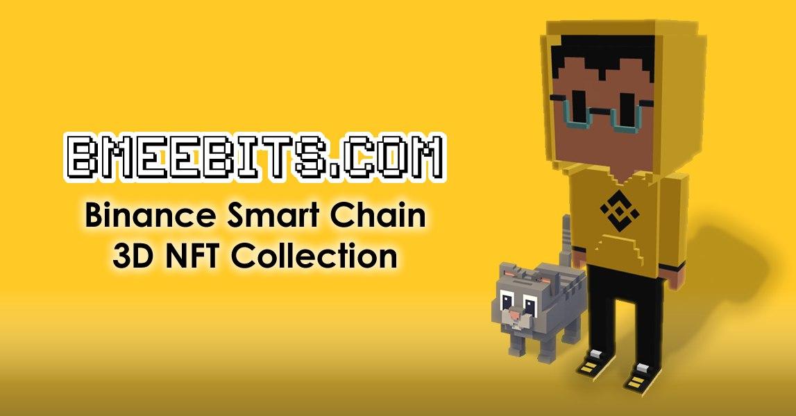 Binance SmartChainの3DNFTモデルのBMeebits.comコレクションは12時間で完売しました