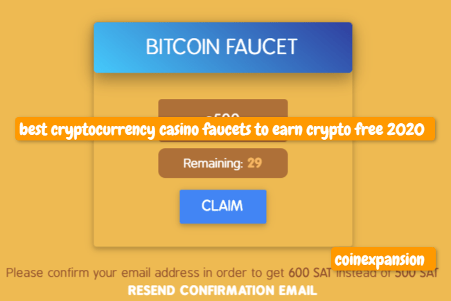 7 best crypto casino faucets