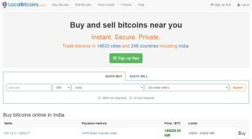 Localbitcoins review - Buy bitcoin face to face locally