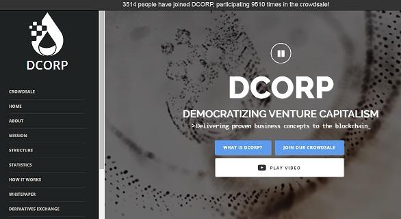 DCORP (DRP) ICO
