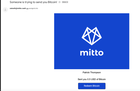 mitto email