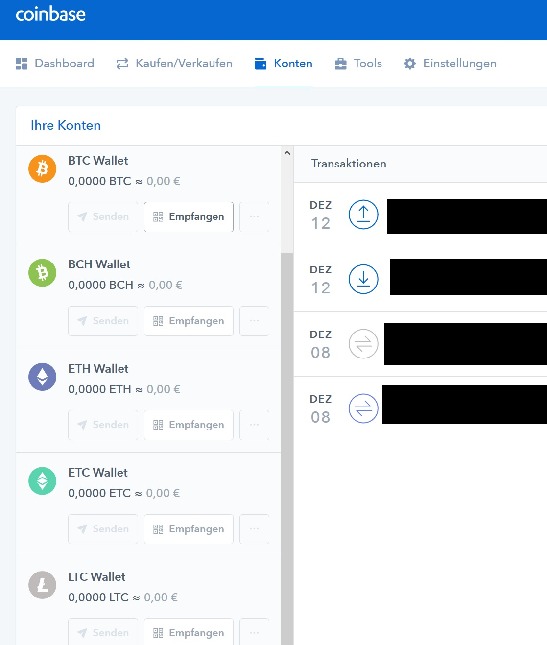 Coinbase Wallets
