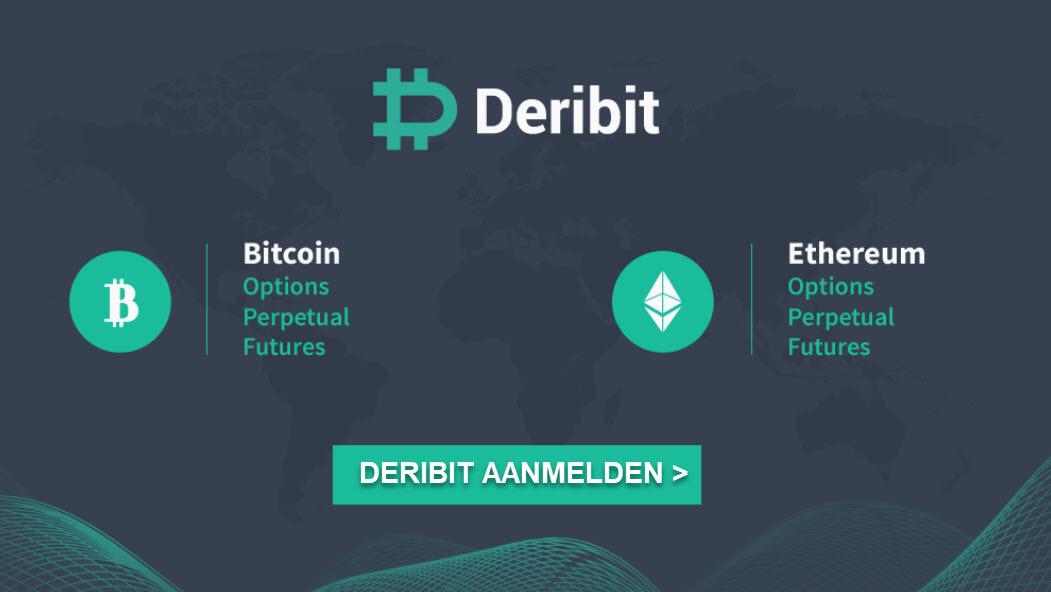 deribit account aanmaken