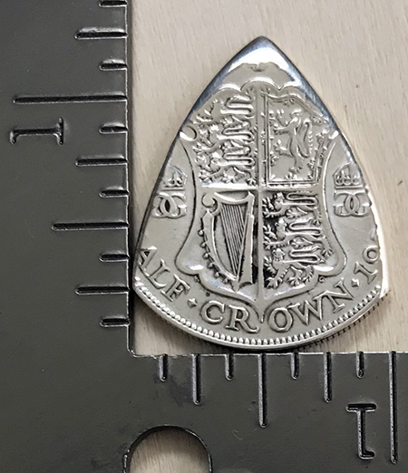 1933 UK Half Crown 3