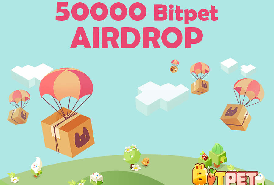 Blockchain-Based Crypto Game Bitpet Announce their Impending Airdrop Event