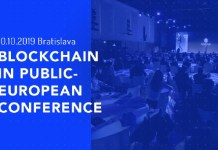 blockchain public european conference 2019