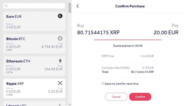 How to Buy Ripple XRP online using a credit card