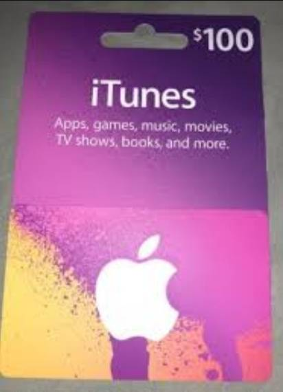 $500 iTunes card