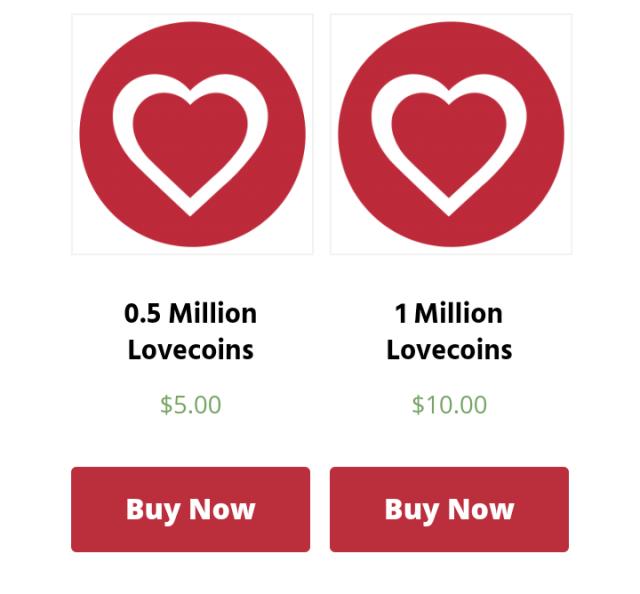 Buy lovecoin