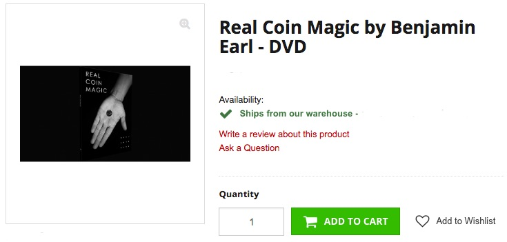 Real_Coin_Magic_by_Benjamin_Earl_-_DVD