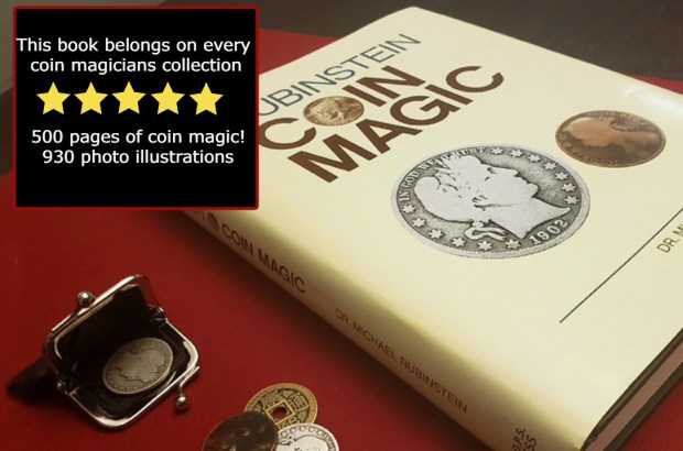 Coin Magic by Rubenstein - Book