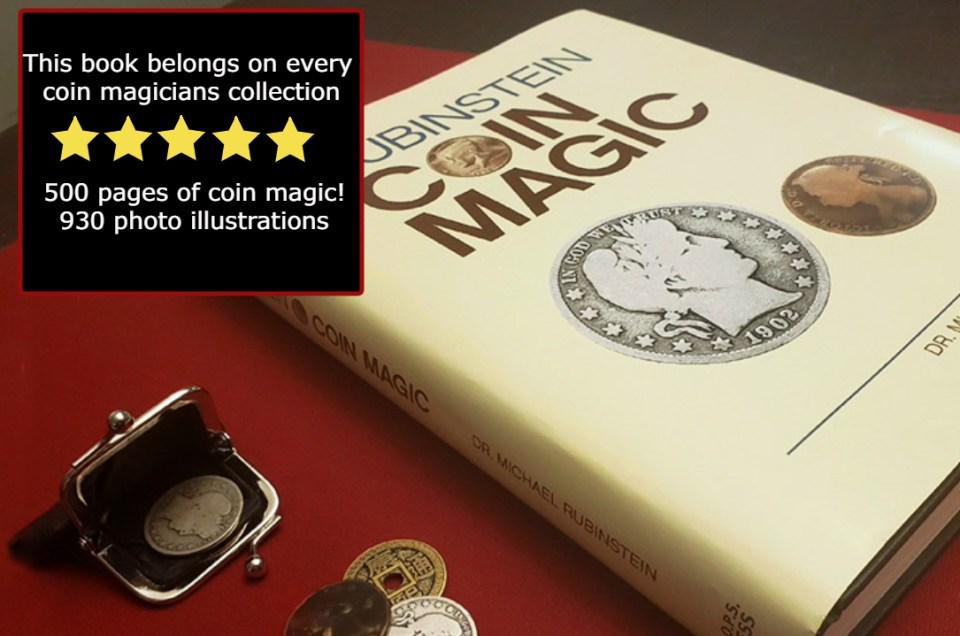 Coin Magic by Rubenstein - Book