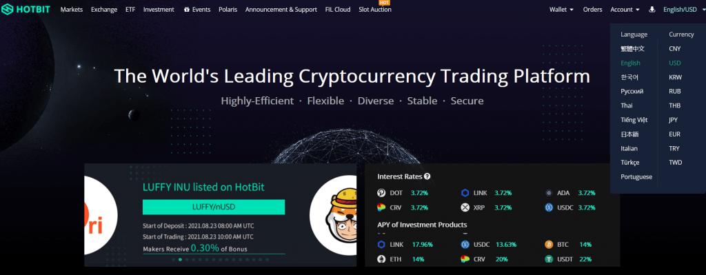 Hotbit Crypto Exchange