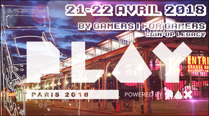 COIN-OP LEGACY X PLAY Paris Powered by PAX