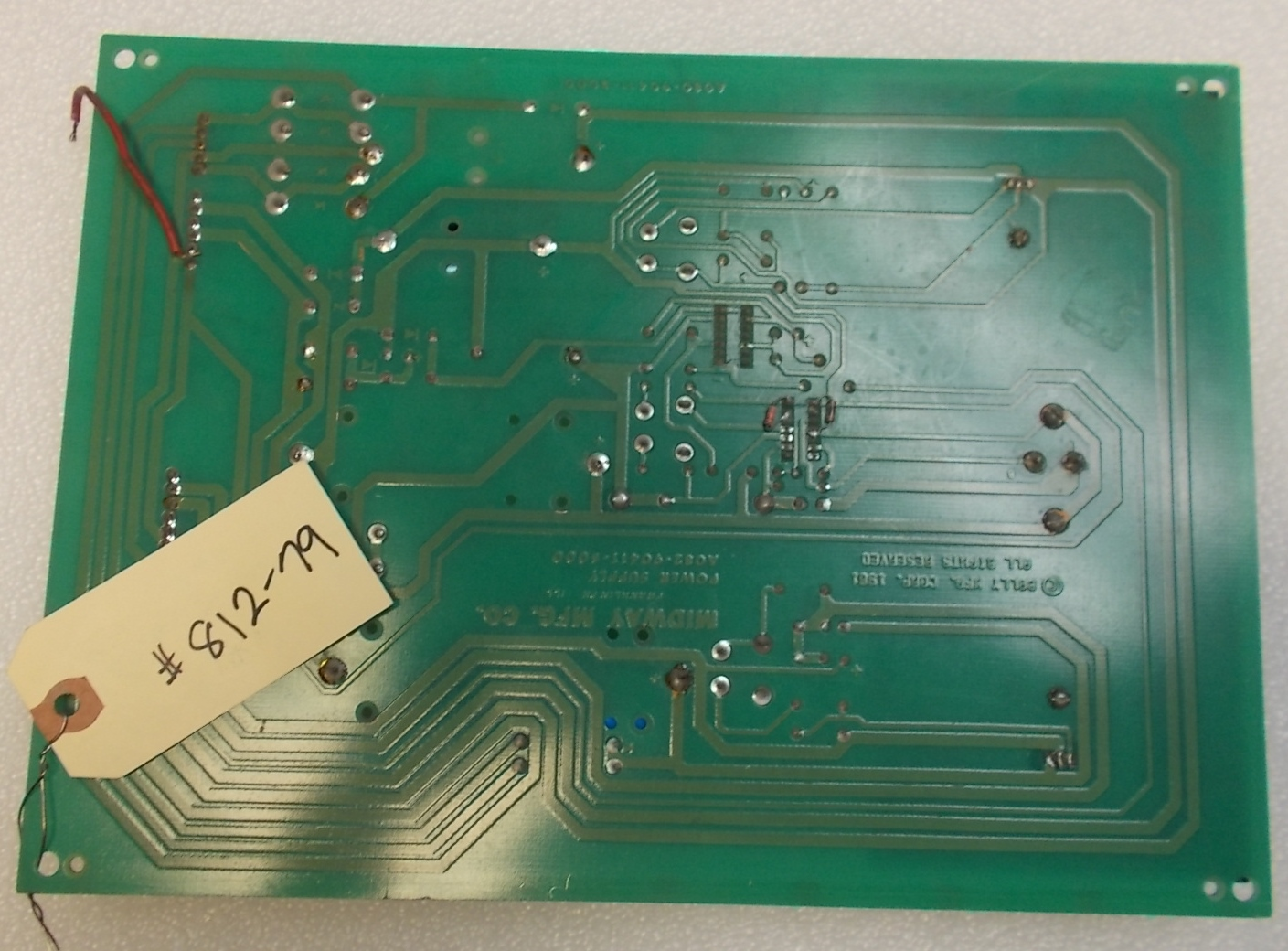 Midway Power Supply Arcade Machine Game PCB Printed