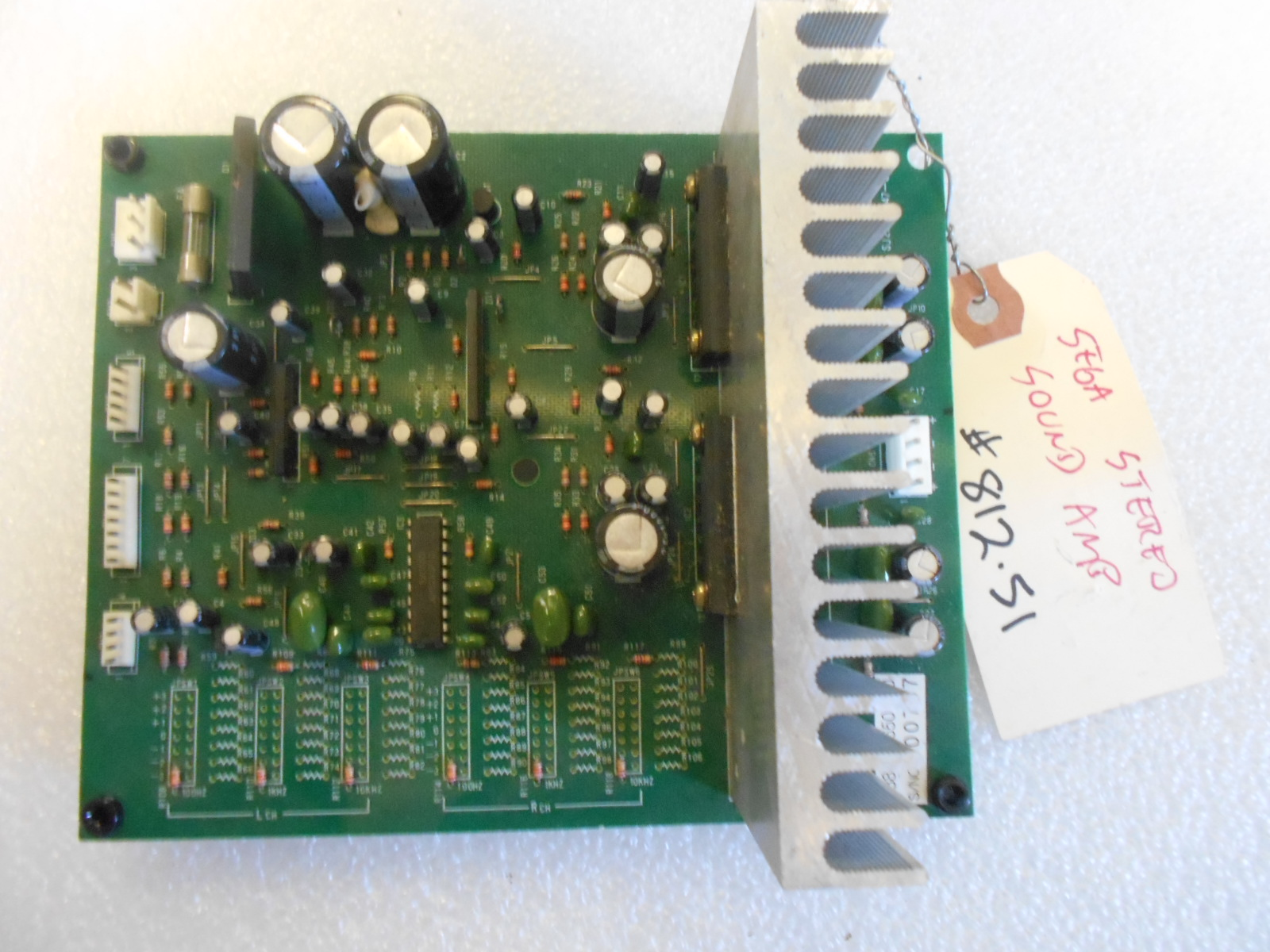 Sega Stereo Sound Amp Arcade Machine Game PCB Printed